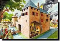 Afbeeldingsresultaat voor knutselen ridders en kastelen groep 5