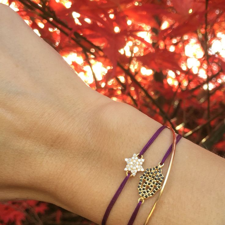 Charm'ed bracelet by Charm'ed Copenhagen - www.charmedcopenhagen.com - #charmed #bracelet #danishdesign #eye #jewellery #armbånd #smykker #handmade #star #fatimashand #charmed_cph #rikkehandrecknovod