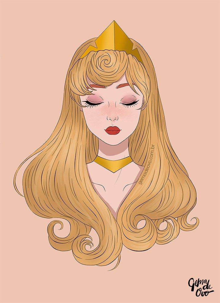 Princesa Aurora de A Bela Adormecida