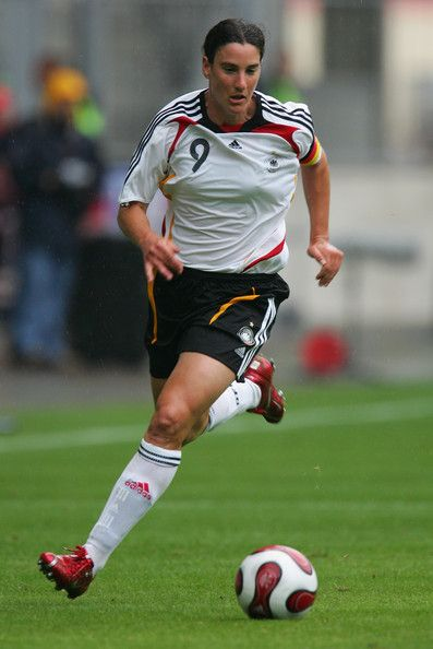 Birgit Prinz Photos: Womens National team Germany  lethal striking ability led Germany to Women's World Cup titles in 2003 and 2007,