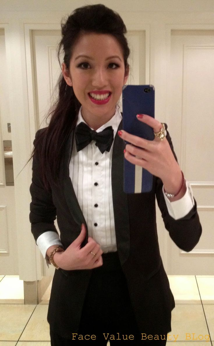 Face Value Beauty Blog: NYE Party? An Alternative LBD: The Female Tuxedo