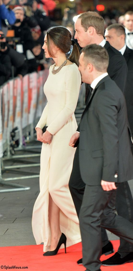 """Kate's gown is the """"Lombard,"""" inspired by actress Carole Lombard.  She looked stunning as always!"""