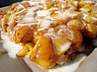 Upside-Down Caramel Apple Rolls