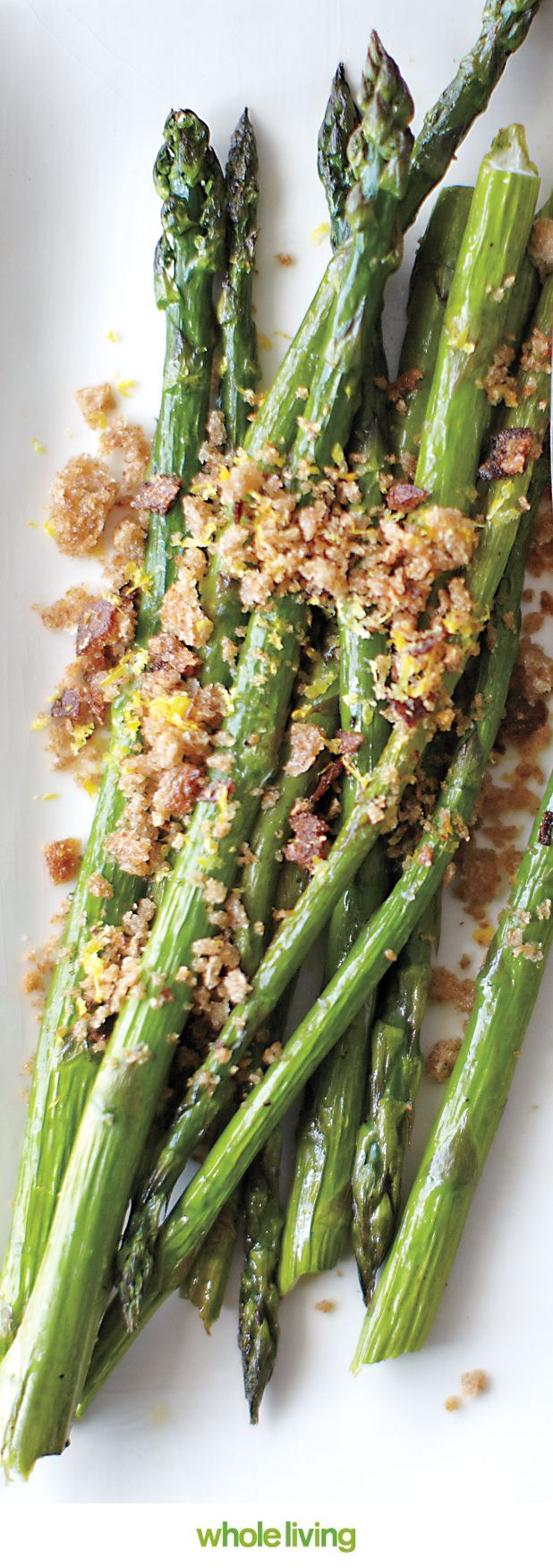 Asparagus with Breadcrumbs and Lemon Zest | Recipe | Asparagus ...