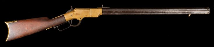 S/N 6500, honest frontier Henry Rifle. Brian Lebel's High Noon Auction, January 23, 2016. Est. $18,000-25,000.