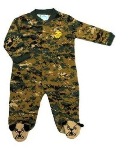 U.S. Marine Corps. Camo Infant/Baby/Toddler Bulldog Crawler / Sleeper (3-6 MONTHS, MARINES WOODLANDS CAMO BULLDOG CRAWLER) TC,http://www.amazon.com/dp/B00B5ZAGPI/ref=cm_sw_r_pi_dp_HVD1sb10BGTXWTGW
