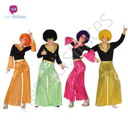 #Disfraces Grupo #Disco pantalon #Mercadisfraces tu #tienda de #disfraces online donde podrás comprar tus disfraces #baratos y #originales para tus fiestas de #carnaval y #halloween. Amplio stock en tallas para #grupos y #comparsas.