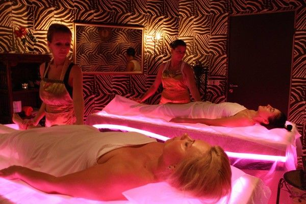 3 in 1 EQUILIBRIUM beds at Bonitta SPA, Riga, Latvia