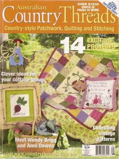 country treads 14 - Joelma Patch - Álbuns da web do Picasa...FREE MAGAZINE AND PATTERNS!!