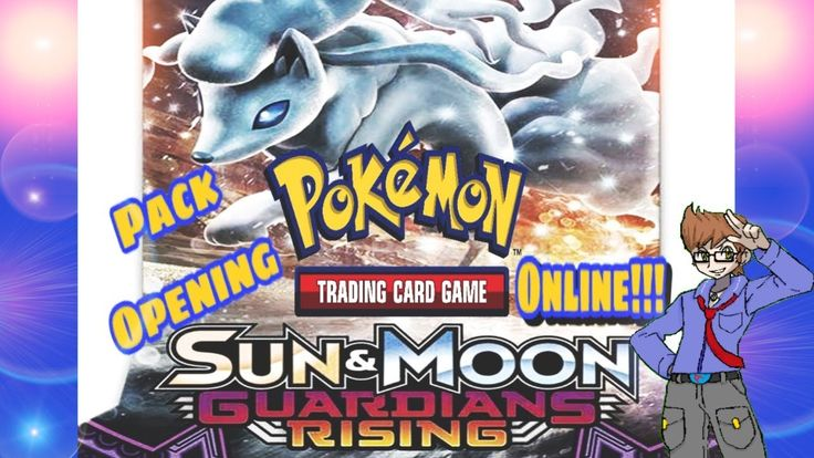 Pokemon TCG Online: Pack Opening Sun and Moon Guardians Rising!!! GX or naw
