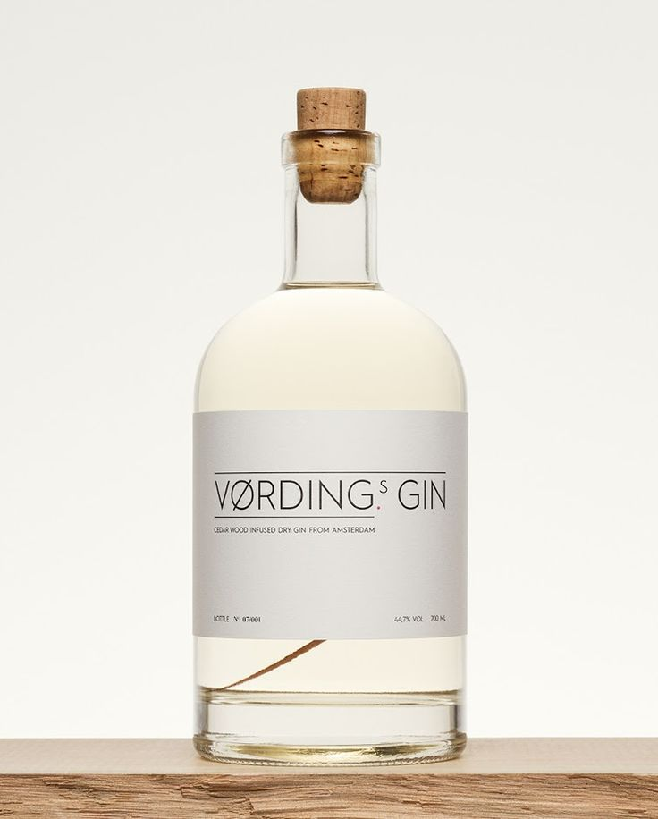 Vørding's Gin on Packaging of the World - Creative Package Design Gallery