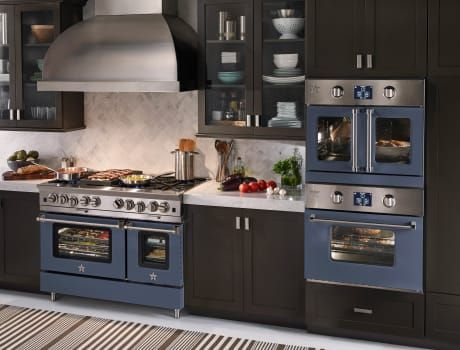 bluestar bsewo30ecsd 30 inch single electric wall oven with 45 cu ft convection oven