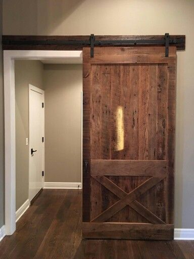 Old Growth Oak Reclaimed Barn Wood Was The Perfect Look