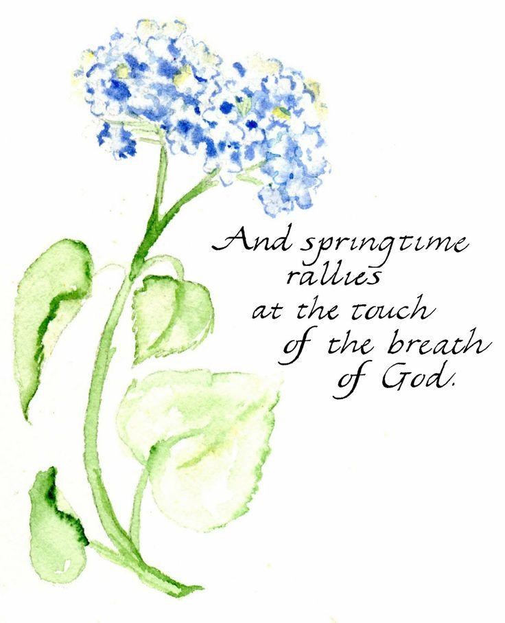 Springtime... watercolor