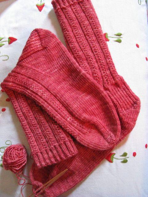 Easy sock pattern