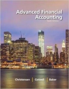 Textbook Solutions Manual for Advanced Financial Accounting 10th Edition Christensen Cottrell INSTANT DOWNLOAD
