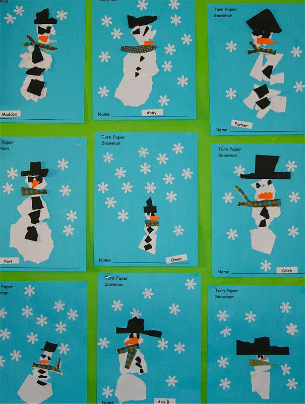 Nancy Nolan's Kindergarten: Snow, Snowmen and Snowballs