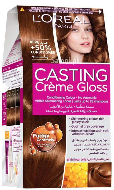 L'Oreal Paris Casting Creme Gloss 5.34 Maple Caramel
