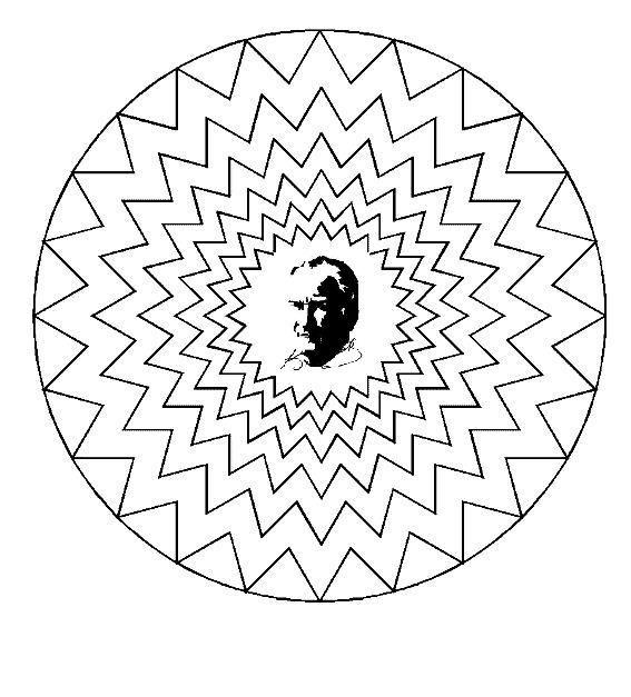 atatürk ile ilgili mandala çalışması - Google'da Ara