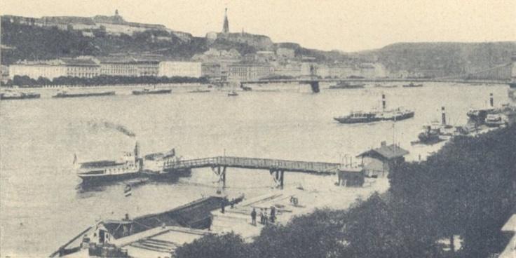 Budapesti rakpartok : A Csavargőzös átkelési vállalat kikötője http://keptar.oszk.hu/html/kepoldal/index.phtml?id=033727