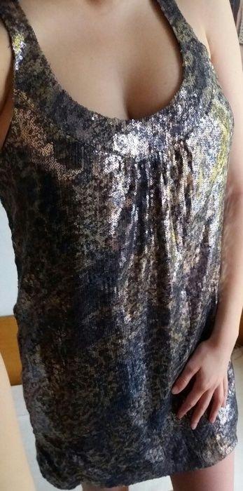 Zara flitrované šaty