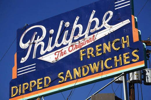 Philippe The Original French DipBananas Puddings, Philippe French, Los Angeles, French Dips Sandwiches, Los Angels, 60, Originals French, The Originals, Macaroni Salad