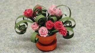 Quilling Flowers https://m.youtube.com/details?v=oSkIreHaYGE