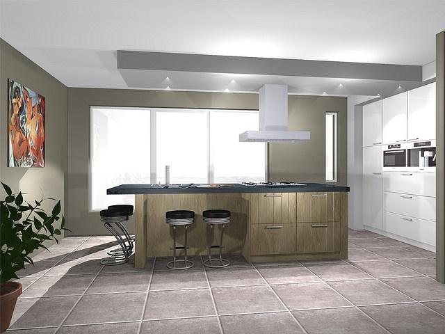 Moderne keuken met een gezellige uitstraling by kitchen ideas keuken - Gezellige keuken ...