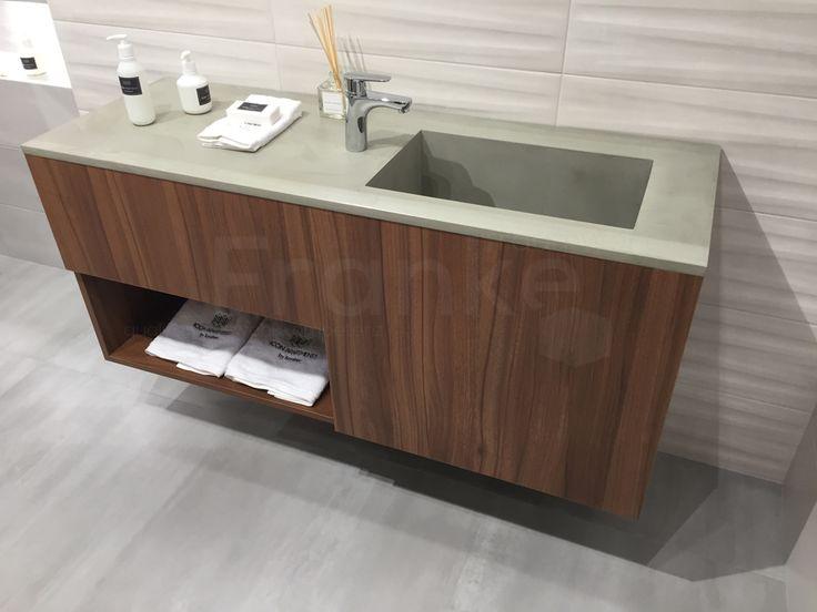 Badezimmermöbel nussbaum ~ Die besten 25 grauer waschtisch ideen auf pinterest grauer