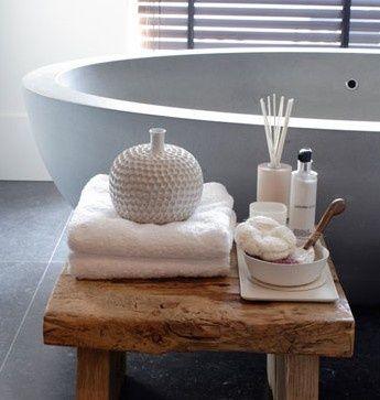 129 beste afbeeldingen van bathroom - Decoratie salon grijs wit ...
