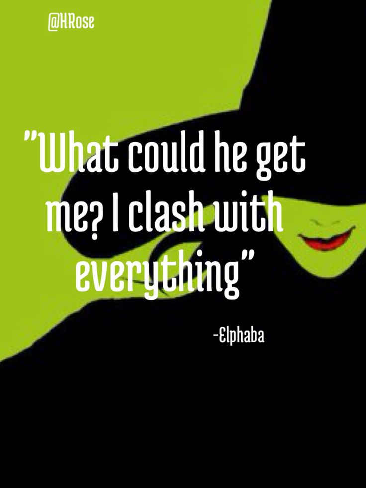 wicked quotes elphaba quotesgram