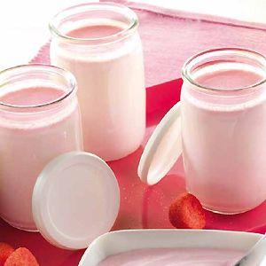 Yaourt à la fraise Tagada®- Recette de cuisine - Seb