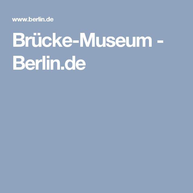 Brücke-Museum - Berlin.de