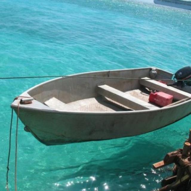 Mystery island in Vanuatu