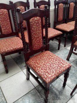 Predám 14ks čalúnených stoličiek