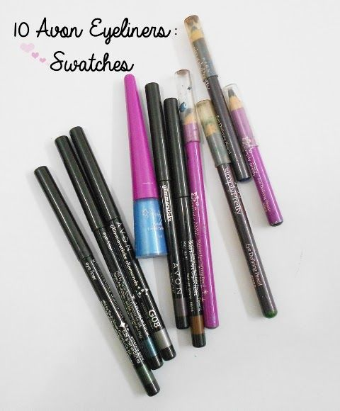 10 Avon Eyeliners – Swatches and Photos | Makeup and Beauty Home