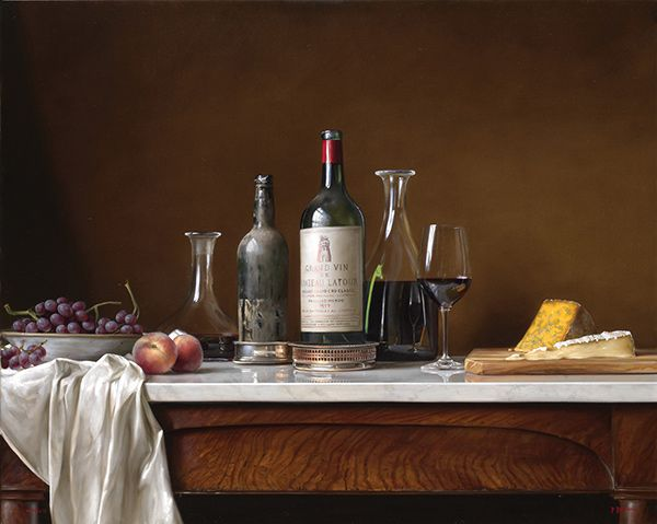 Paul Brown still life.  Classical Realism in painting.