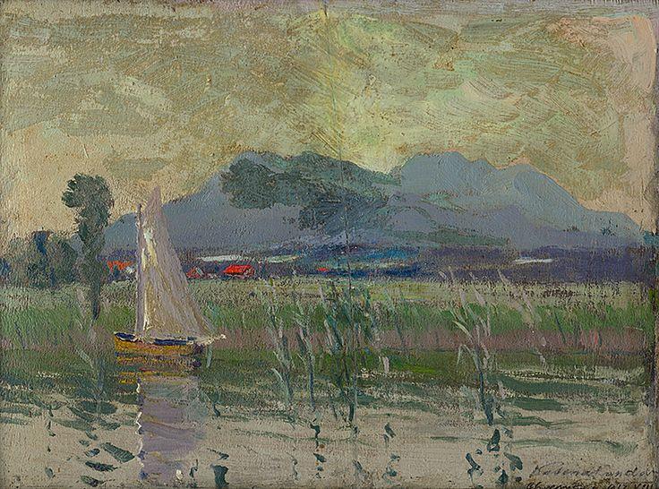 Chiemského jazera by Ferdinand Katona, 1912.  Slovak national gallery, CC BY