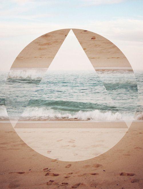 rettangolo, cerchio, triangolo. E il mare. @officina36 | its time to be inspired