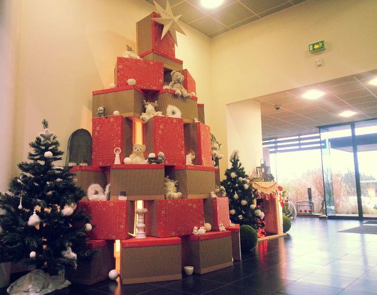 Ho, Ho, Ho, nos bureaux aux couleurs de Noël #WescoFamilyInside