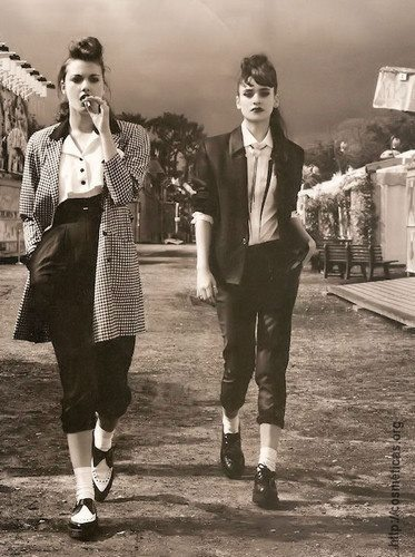 74 best images about Teddy Girls + Greaser Boys on