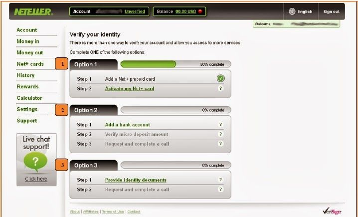 How To Use Neteller Virtual Card