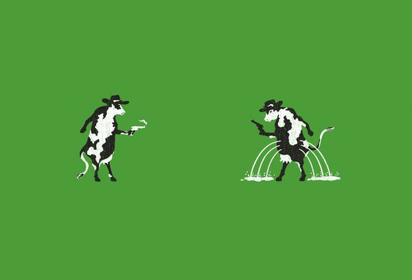 Cow & Cow.