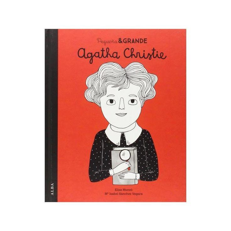Pequeña y grande Agatha Christie es el quinto título de una colección de cuentos con la que niñas y no tan niñas descubrirán quiénes eran y qué lograron.
