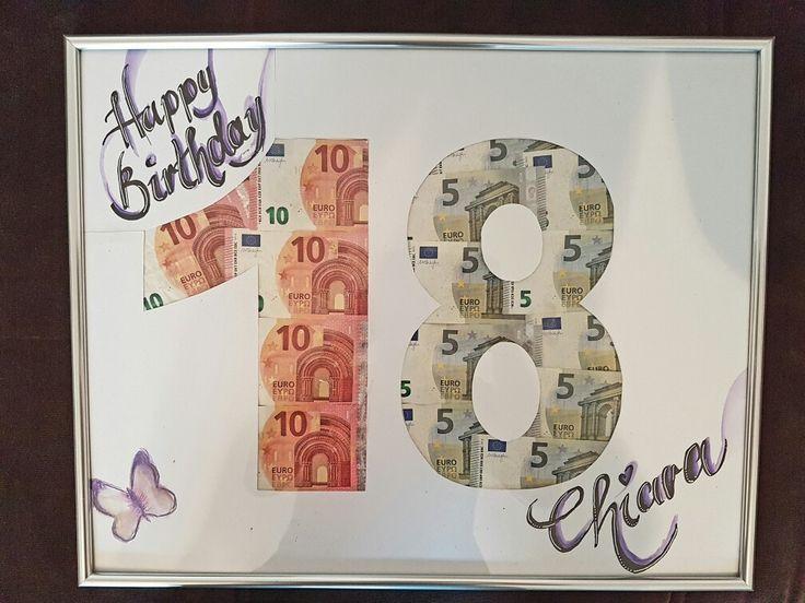 18. Geburtstag Geldgeschenk