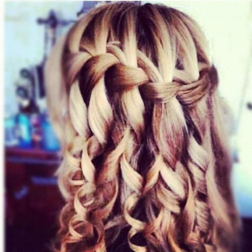 ... braids and curls p...