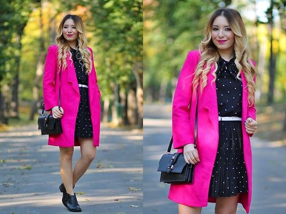 Get this look: http://lb.nu/look/7882174  More looks by Andreea  Ristea: http://lb.nu/andreeadesign  Items in this look:  Romwe Pink Coat   #artistic #chic #romantic