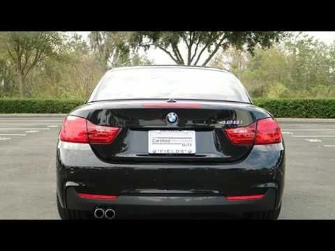 2016 BMW 428i Convertible in Lakeland FL 33809 : Fields BMW Lakeland 4285 Lakeland Park Drive I-4 @ Exit 33 in Lakeland FL 33809  Learn More: http://ift.tt/2jOaTUV  Discerning drivers will appreciate the 2016 BMW 428i With less than 10000 miles on the odometer this model delivers an exhilarating ride without compromising ultimate luxury! BMW made sure to keep road-handling and sportiness at the top of it's priority list. It features an automatic transmission rear-wheel drive and a 2 liter 4…