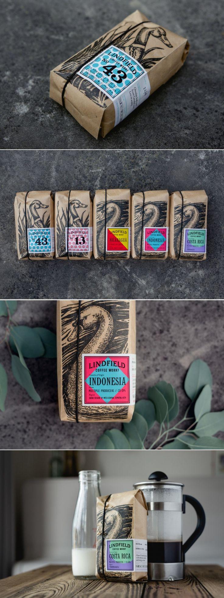 Lindfield Coffee Works Roastery and Coffee Bar — The Dieline - Branding & Packaging Design