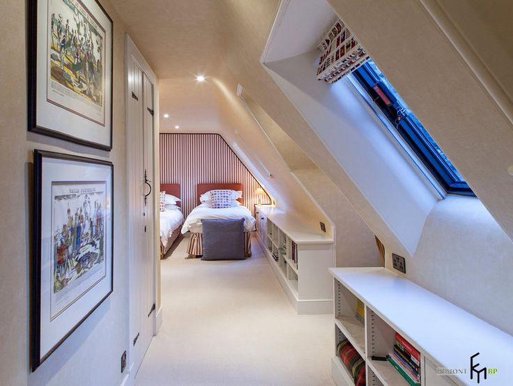 Наклонный потолок